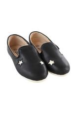 Zeebra Zeebra Black and white star loafer