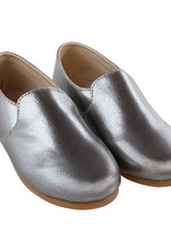 Zeebra Zeebra Grey metallic loafer