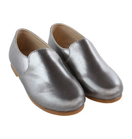 Zeebra Zeebra Grey metallic loafer