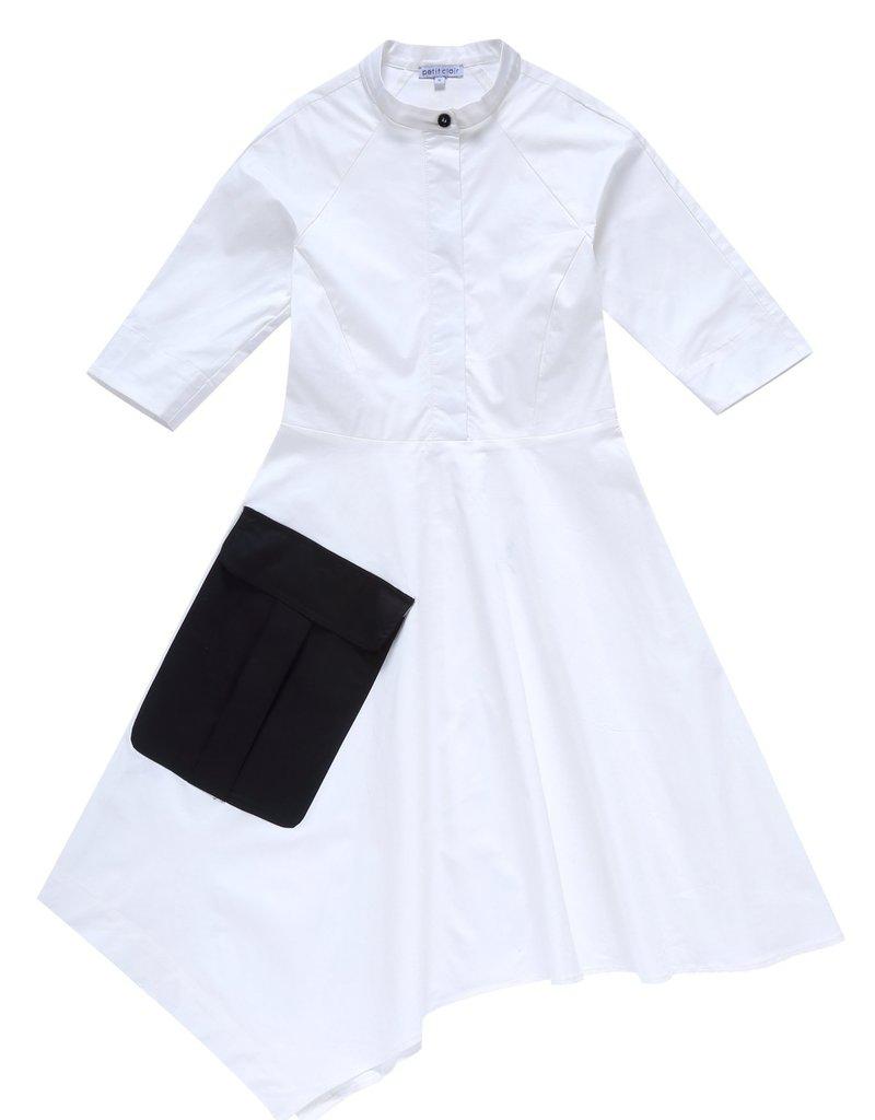 Petit Clair asymmetrical dress