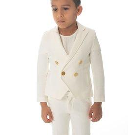 PC2 Petit Clair boys white blazer set
