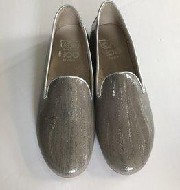 Hoo Hoo Grey Glitter patent shoe