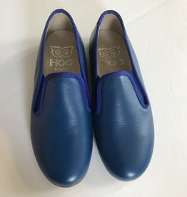 Hoo Hoo Cobalt leather smoking shoe