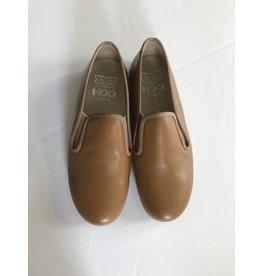 Hoo Hoo Tan leather smoking loafer