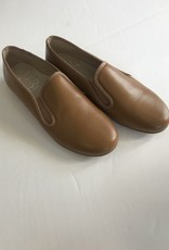 Hoo Hoo Tan leather smoking loafer