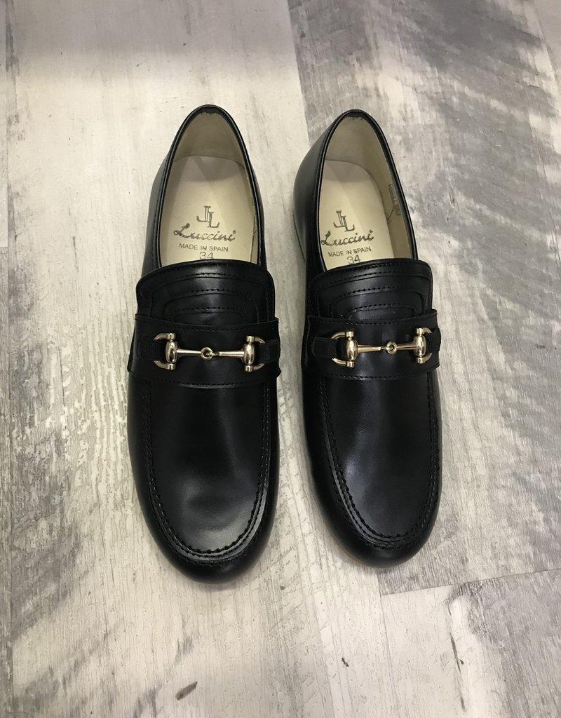Luccini Luccini TRIO gucci loafer blk