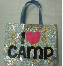 Confetti Camp Metallic Tote Bag