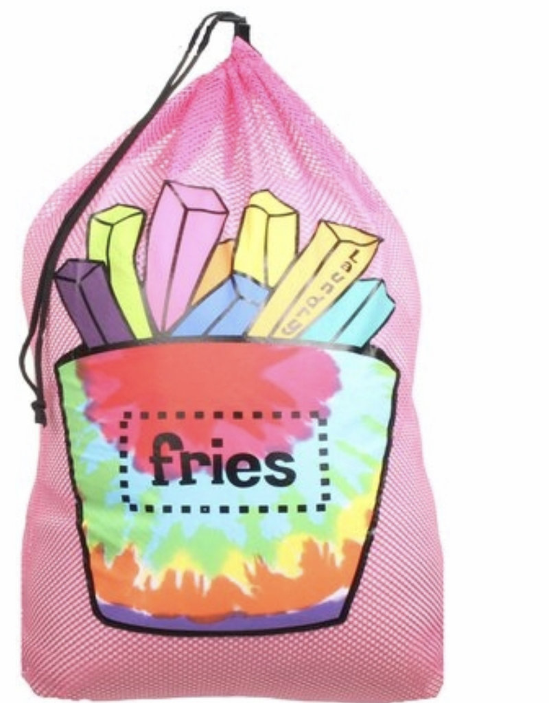 Confetti Camp Fries Mesh Laundry