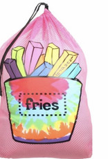 Confetti Camp Fries Mesh Laundry