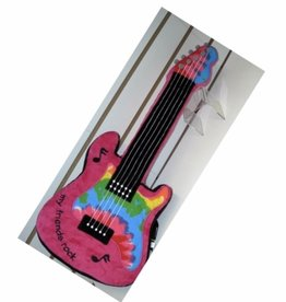 Confetti Camp Guitar Atgraph Pillow
