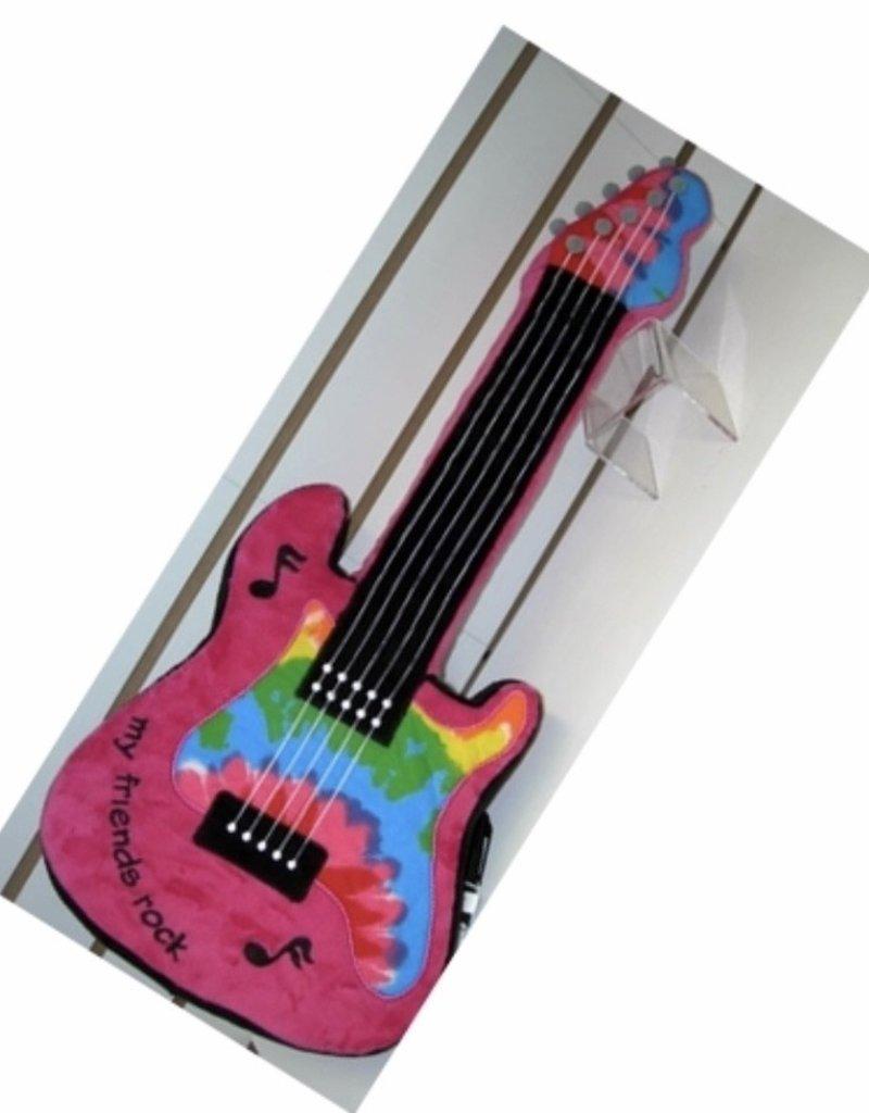 Confetti Camp Guitar Atgraph Pillow