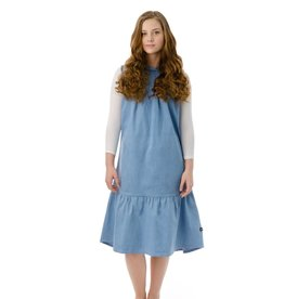 PC2 PC two teens light blue denim dress