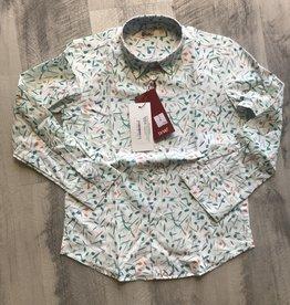 nove Nove Green Confetti Shirt