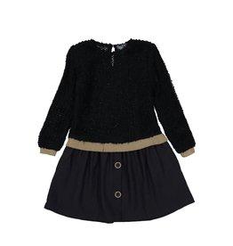 Tarantela Tarantela 19INV06ANY Double Black Dress