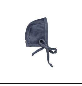 Lil leggs Lil Leggs Slate Velour Bonnet
