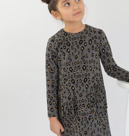 Junee Kids Ean Dress Grey