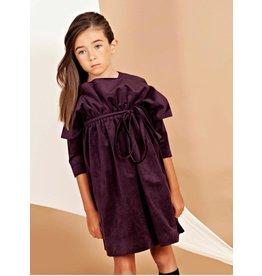nove Nove 44 plum vlvt dress