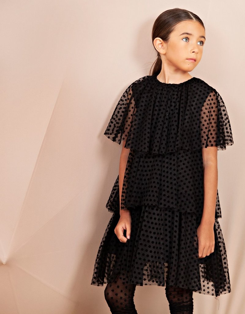 nove Nove 28 Tull layered dress