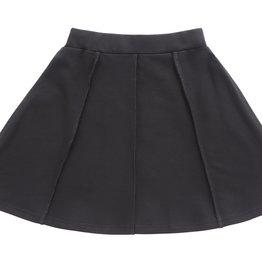 PC2 PC2 girls paneled skirt in black