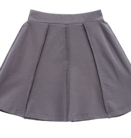 PC2 PC2 girls paneled skirt in heather grey