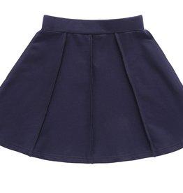 PC2 PC2 girls paneled skirt in navy