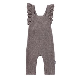 PC2 PC2 Babys' Ruffle Romper in Heather Brown