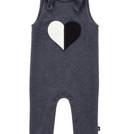 PC2 PC2 Babys' Heart Romper