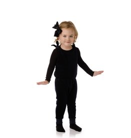 PC2 PC2 Babys' Velour Romper in Black
