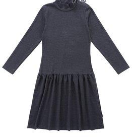 PC2 PC2 Teens' Heather Grey Drop-Waist Dress