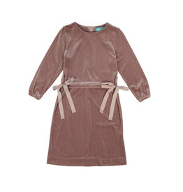 Three bows Three Bows Vita Dress Blush Velvet