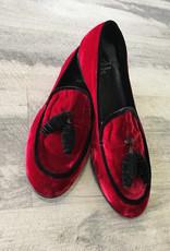 Luccini Luccini Lucy Burdeos Tassel Loafer