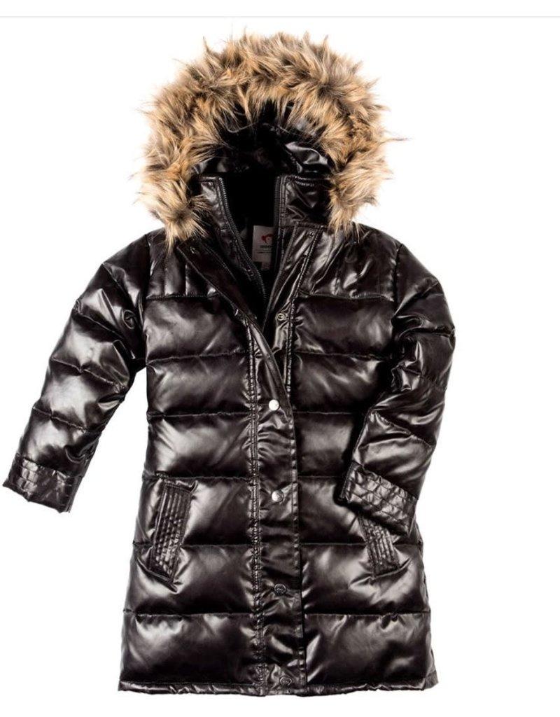 Appaman Appaman U5LD SPB Sparkle Black Long Down Coat