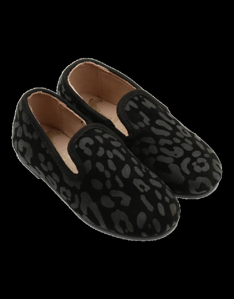 Zeebra Zeebrsuade pebble loafer