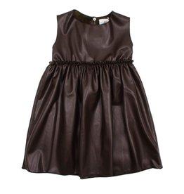 Le Petit Coco Le Petit Coco 1096 Leather Dress
