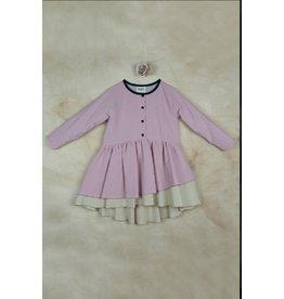 popelin Popelin Raglan Pink Dress