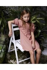 kipp Kipp TD1962 Blush Smocked V Dress