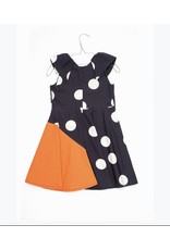 Motoreta Motoreta 018 Louise polka dot dress