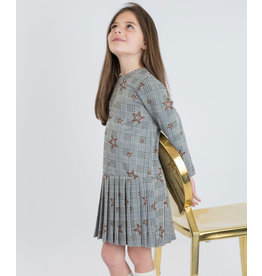 Junee Kids Ozark Dress Grey