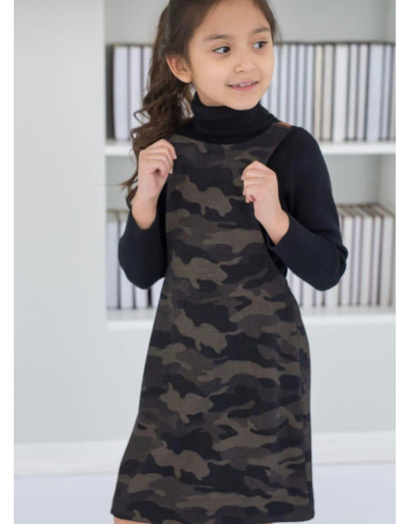 Junee Kids Birdsal Jumper Army