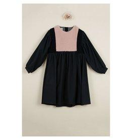 popelin Popelin Black Waistcoat Dress