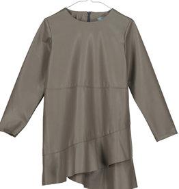 Tarantela Tarantela 19INV31BNY Green Leather Dress