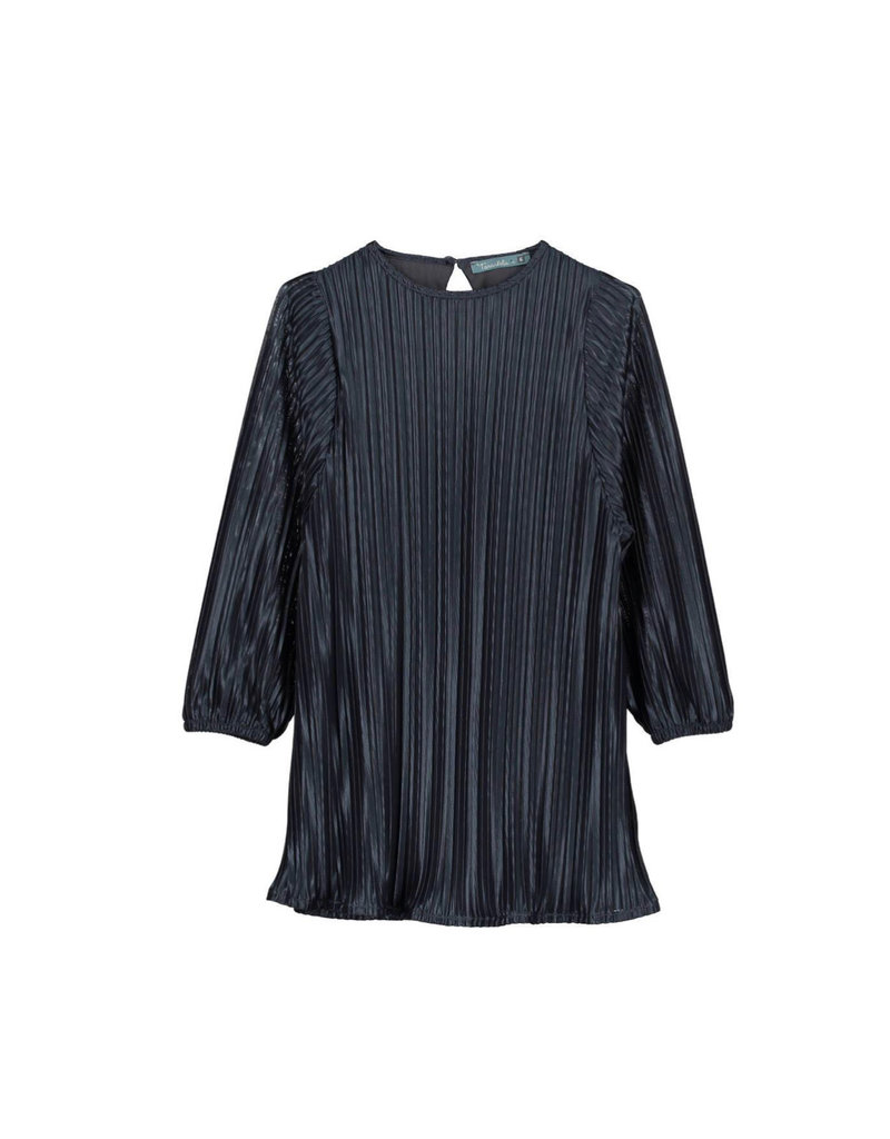 Tarantela Tarantela 19INV32CNY Blue Pleated Dress