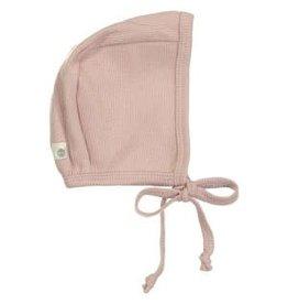 Lil leggs Lil Leggs Pink Ribbed Bonnet