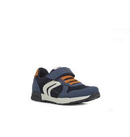 Geox Geox 402 Navy/Orang sneaker