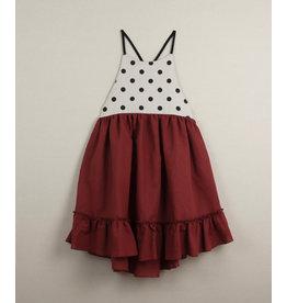 popelin Popelin Earth Red Reversible Dress 29.3