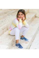 Hoo China Hoo Kelly Denim Star Sock Sneaker