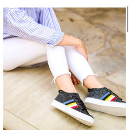 Hoo China Hoo Rainbow Sock Sneaker-Black