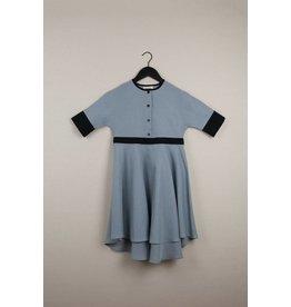 popelin Popelin Blue Cape Dress 24.1