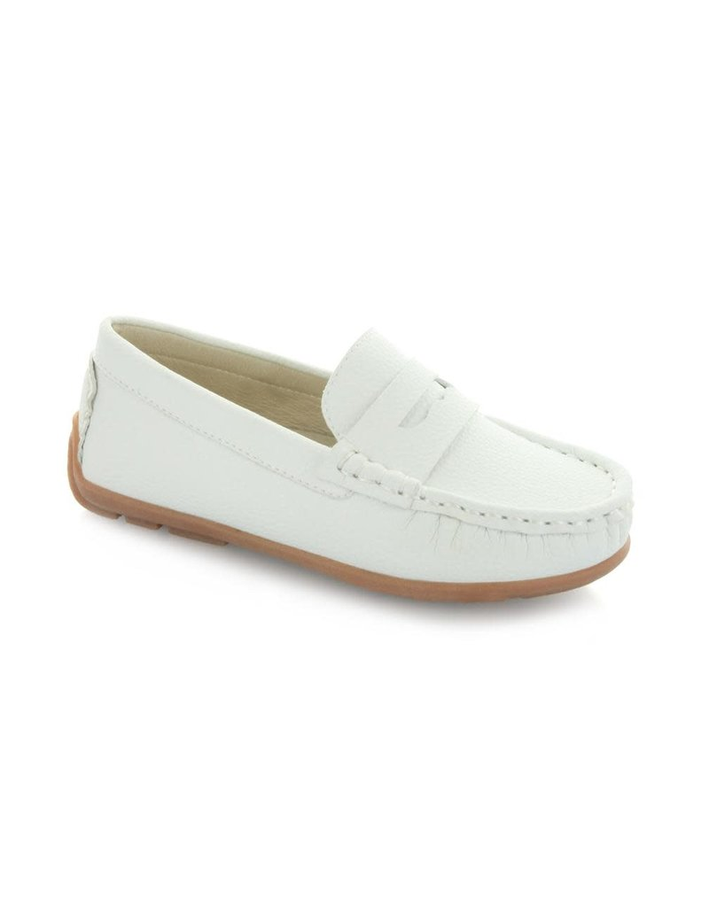Hoo China Hoo Dakota's Loafer- White