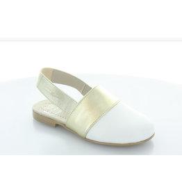 Hoo Hoo 2313A White-Gold Shoe